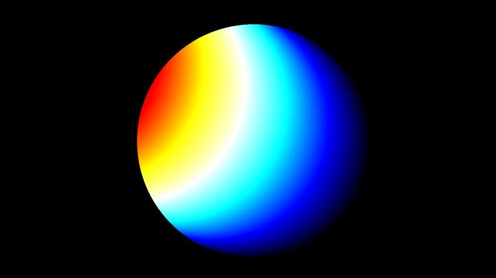 color of planet uranus - photo #22