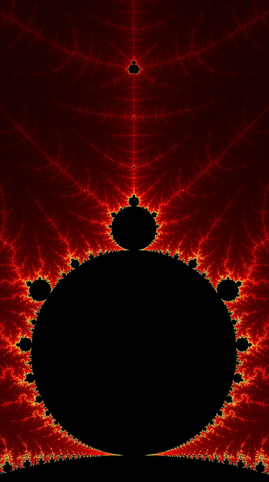 Mandelbrot Tree
